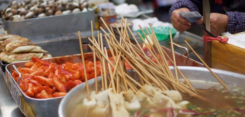 Street vendor in Seoul