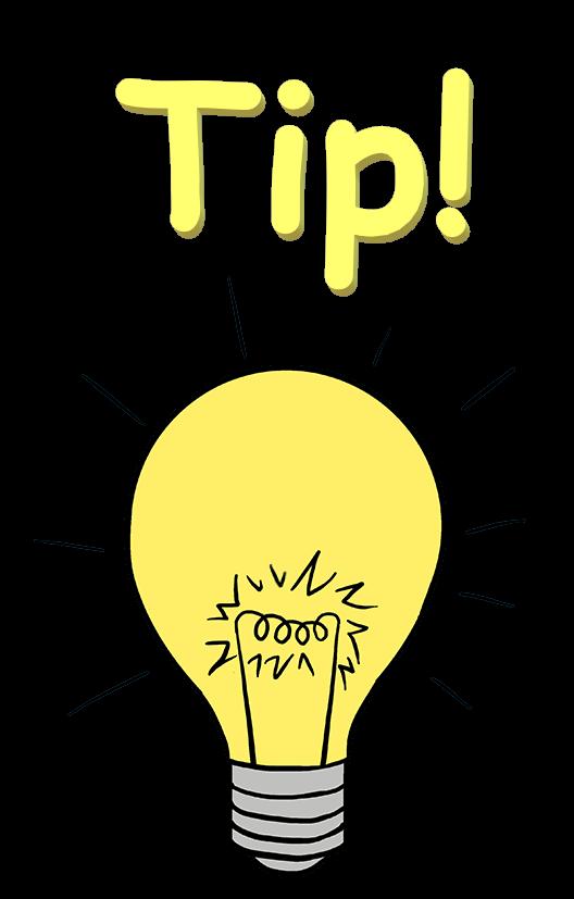 Tip! Icon