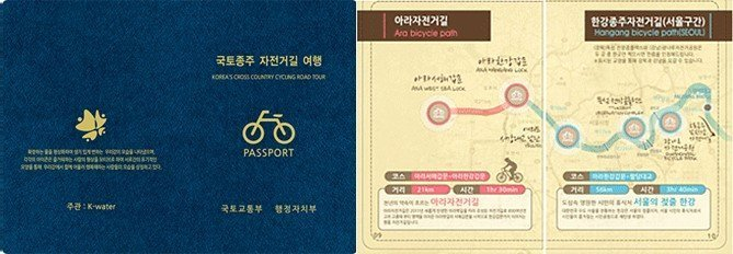 The cover and first page of the Certification Handbook or bike passport.
