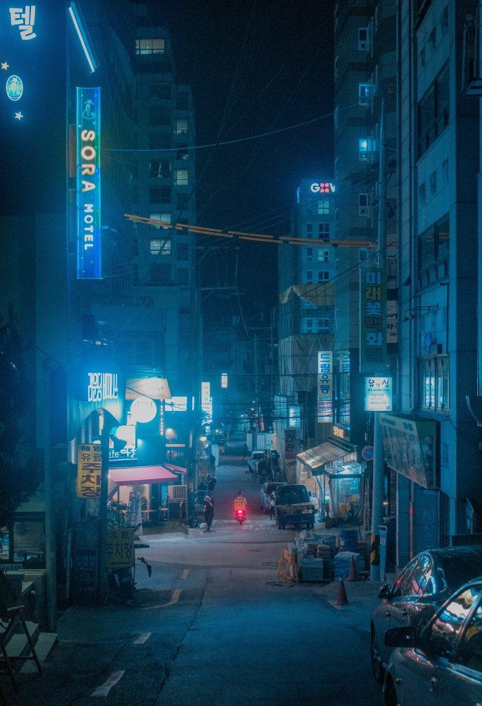 A motel in Korea.