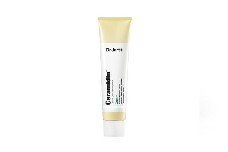 A photo of Dr. Jart+ Ceramidin Cream which is a Korean moisturizer for dry skin