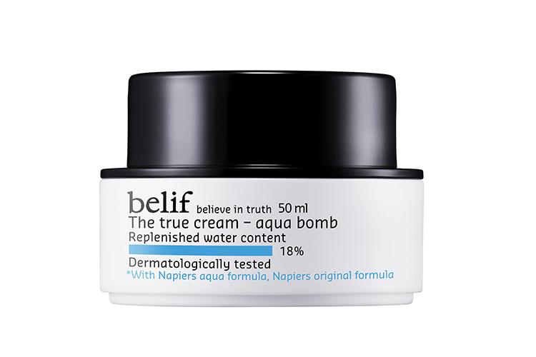 A photo of the tub Belif The true cream Aqua bomb