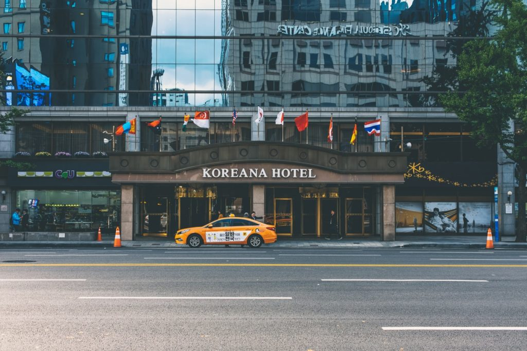 The Koreana Hotel in Seoul