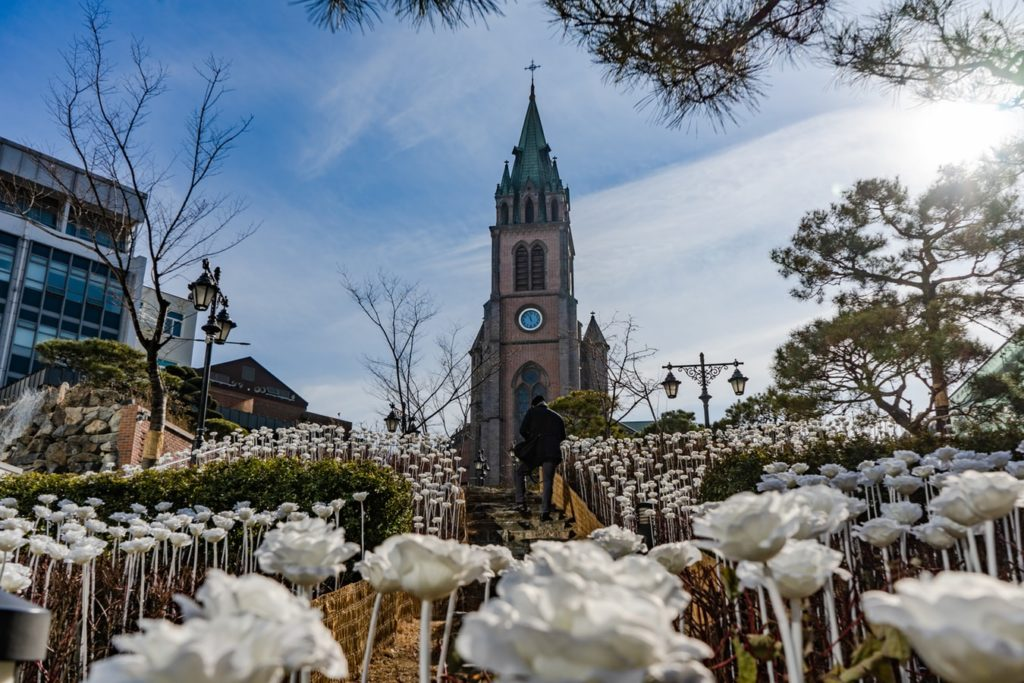 A photo of myeongdong church