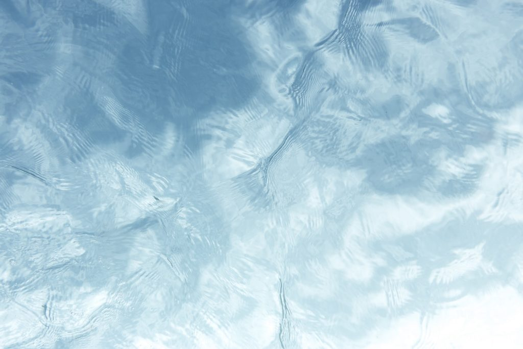 close up of water