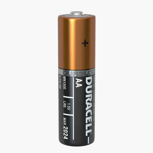 A photo of a double A battery.