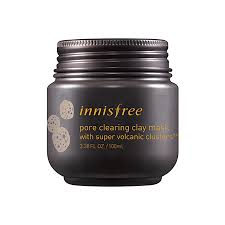 A photo of the volcanic clay mask by innisfree