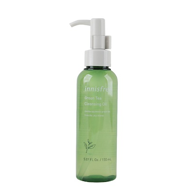 A photo of the innisfree green tea cleansing oil