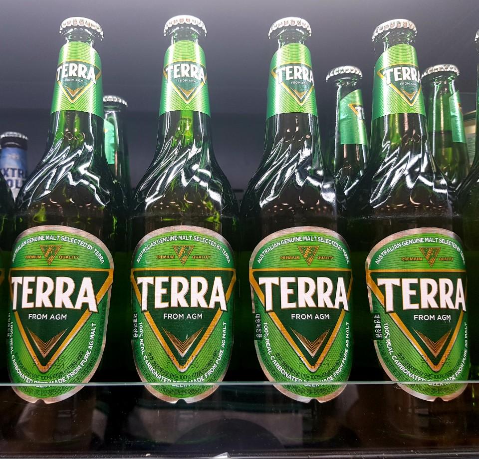 A photo of Terra beer