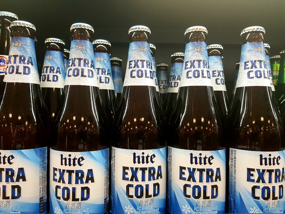 A photo of Hite extra cold beer