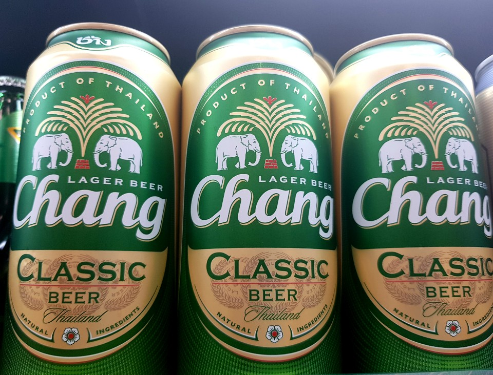 A photo of chang lager