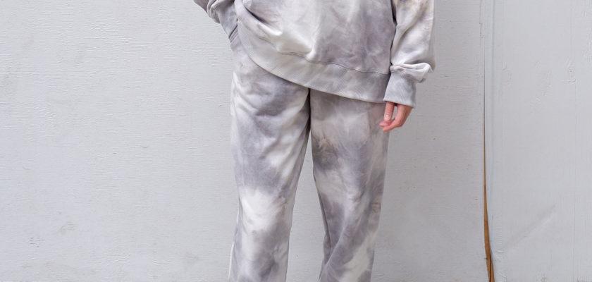Oversized tie dye sweatsuit set from The Dallant, Korean fashion online shopping store