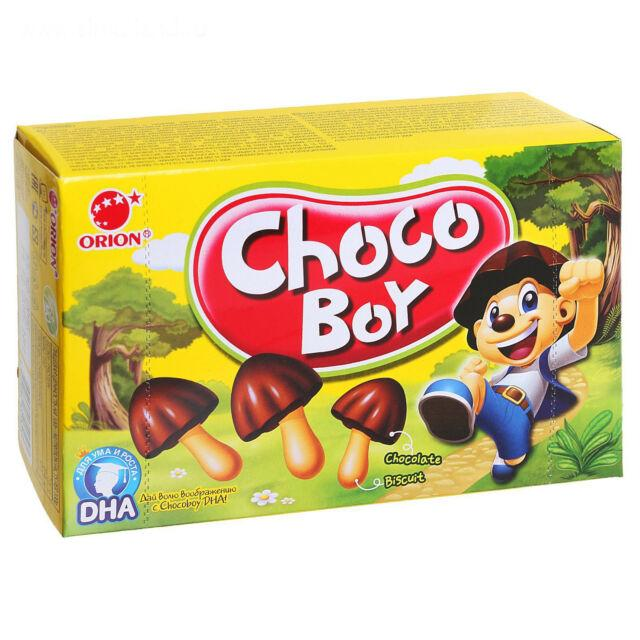 orion choco boy snacks