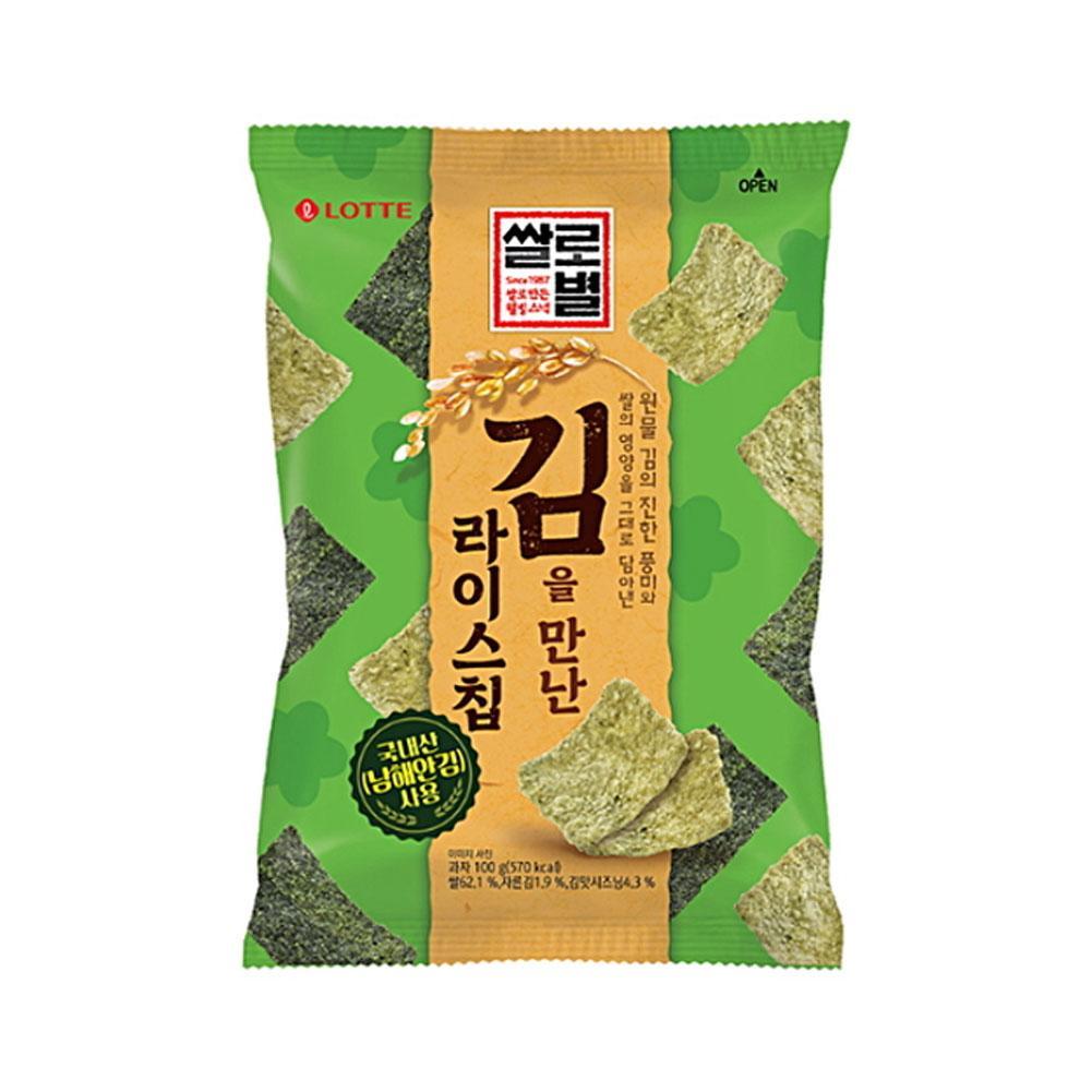 rice snack seaweed